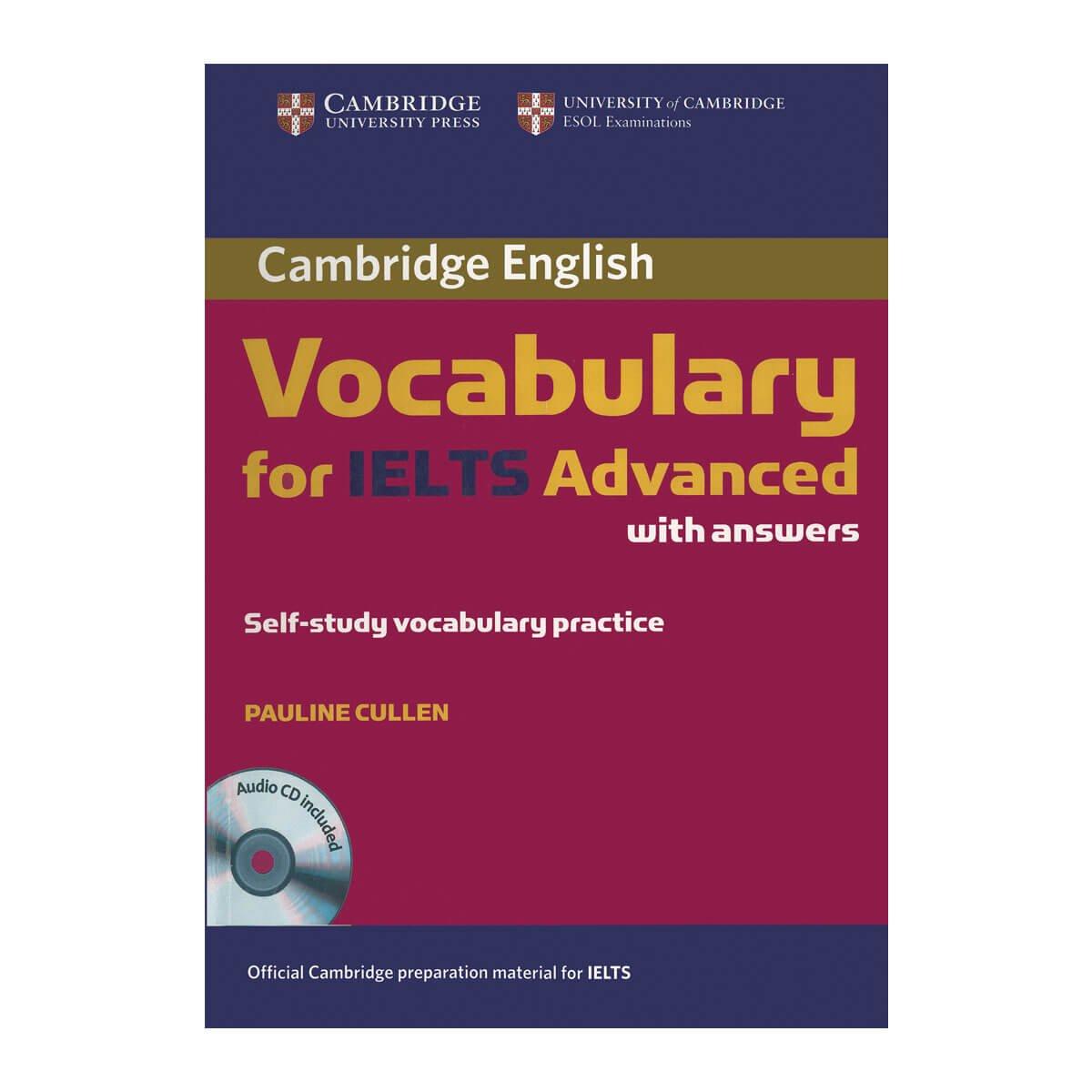 Sách học từ vựng IELTS hiệu quả - Vocabulary for IELTS advance by Cambridge