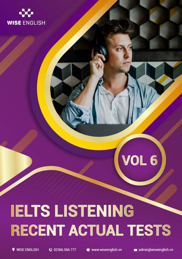 Bộ đề thi IELTS listening vol 6