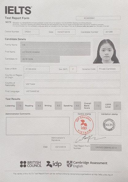 Hà Lê Khánh Ngọc