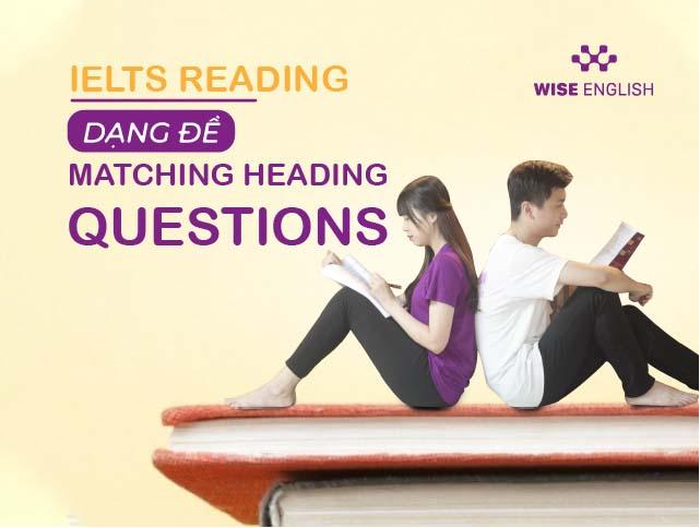 ielts reading dang de matching heading question 1