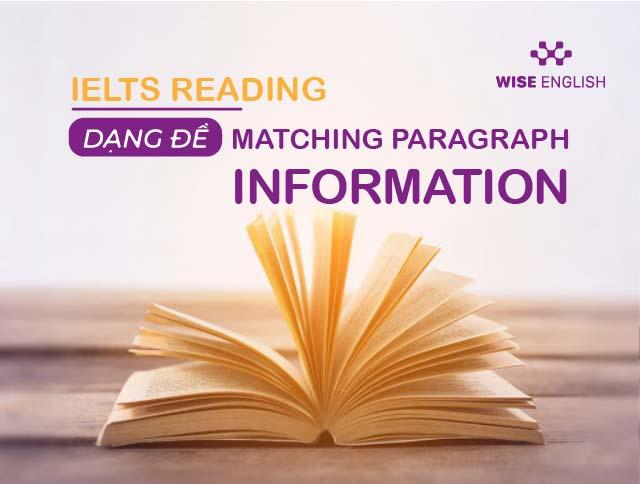 ielts reading dang de matching paragraph infomation 1