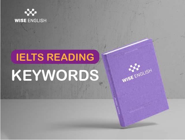 IELTS Reading-Types of keywords