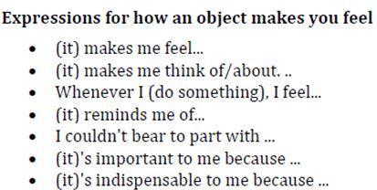 describe an object