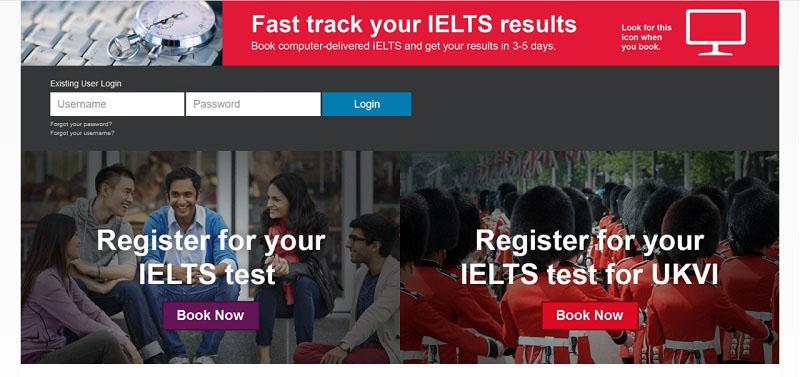 website tự học IELTS Online