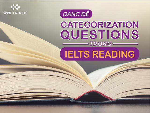 categorization question ielts reading