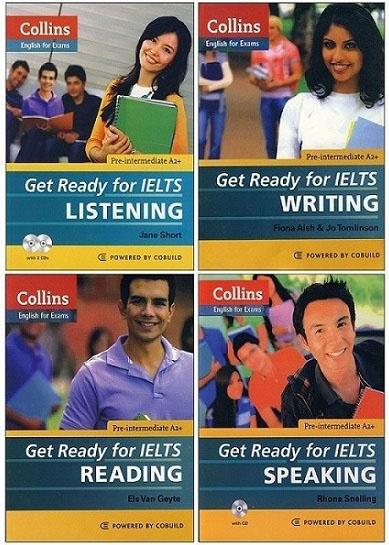 Bìa sách Collins – Get Ready For IELTS
