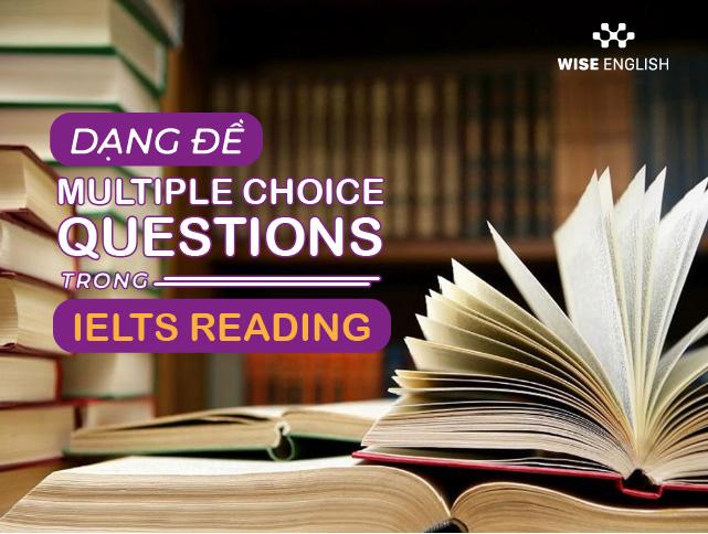 multiple choice ielts reading