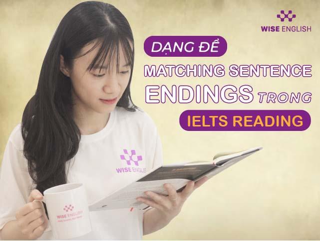 matching sentence endings ielts reading