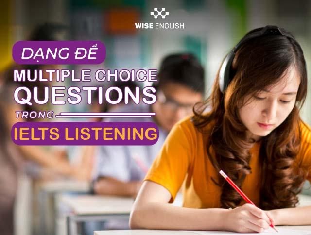 Multiple Choice IELTS Listening