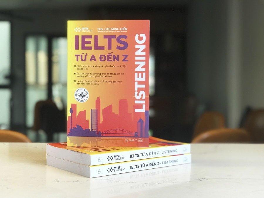 sách IELTS LISTENING TỪ A-Z