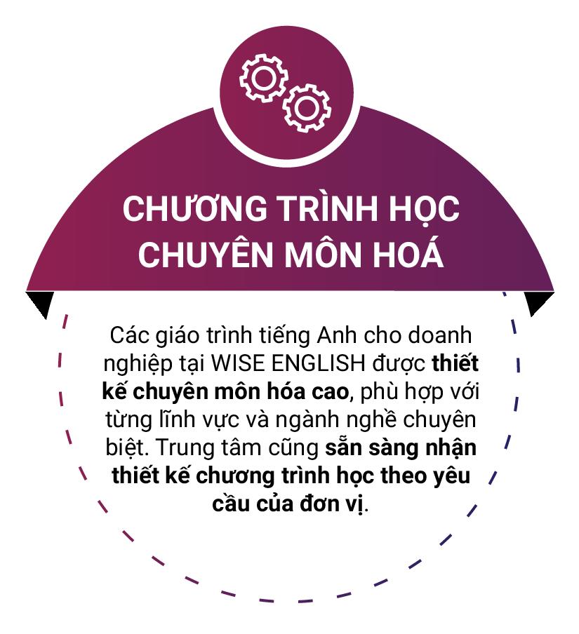 chuong trinh hoc chuyen mon hoa tai wise english