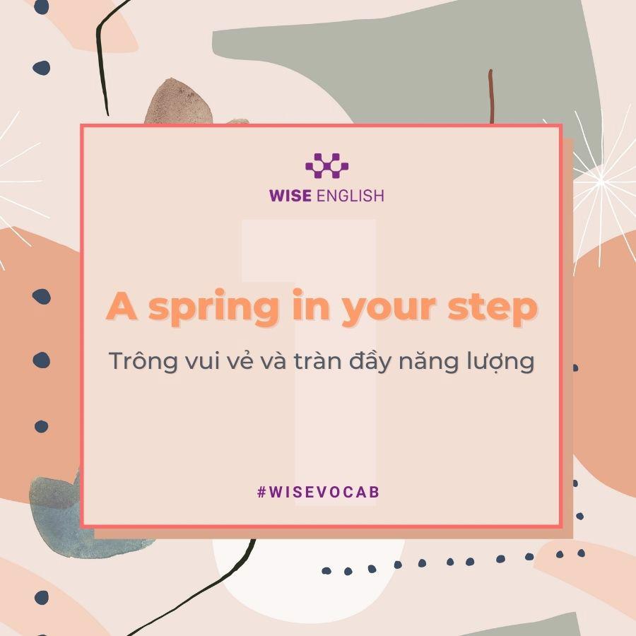 idioms spring 2