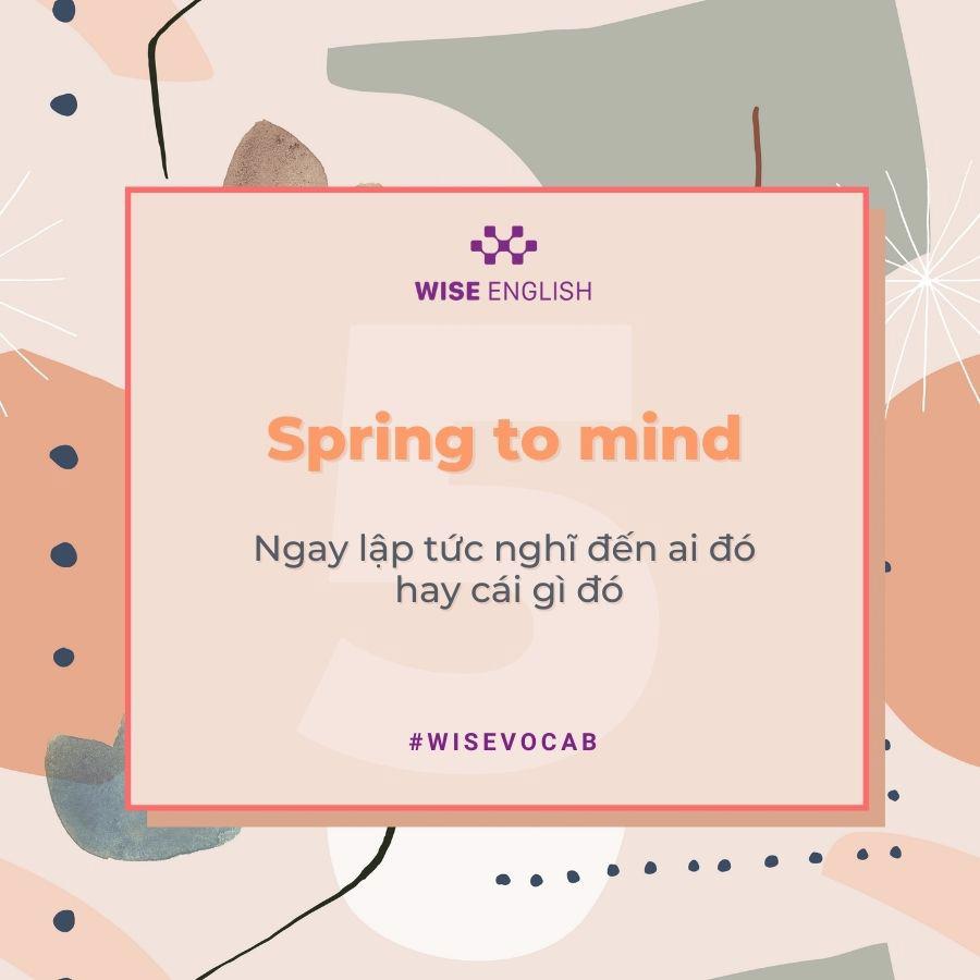 idioms spring 6