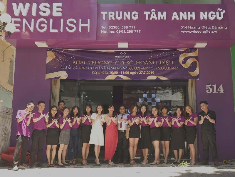 WISE English nhà giáo