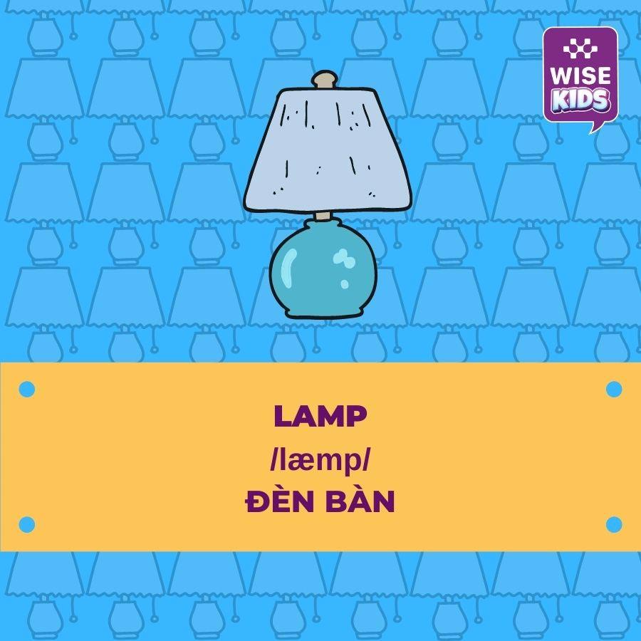 tu vung do vat lamp