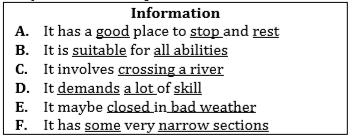 matching-information