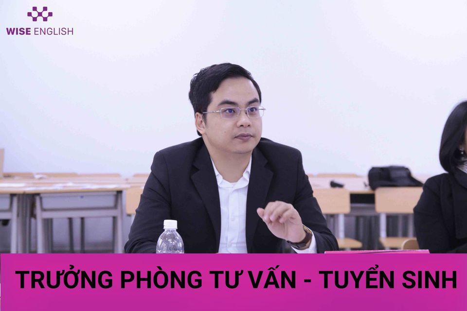 TRƯỞNG PHÒNG TƯ VẤN-TUYỂN SINH