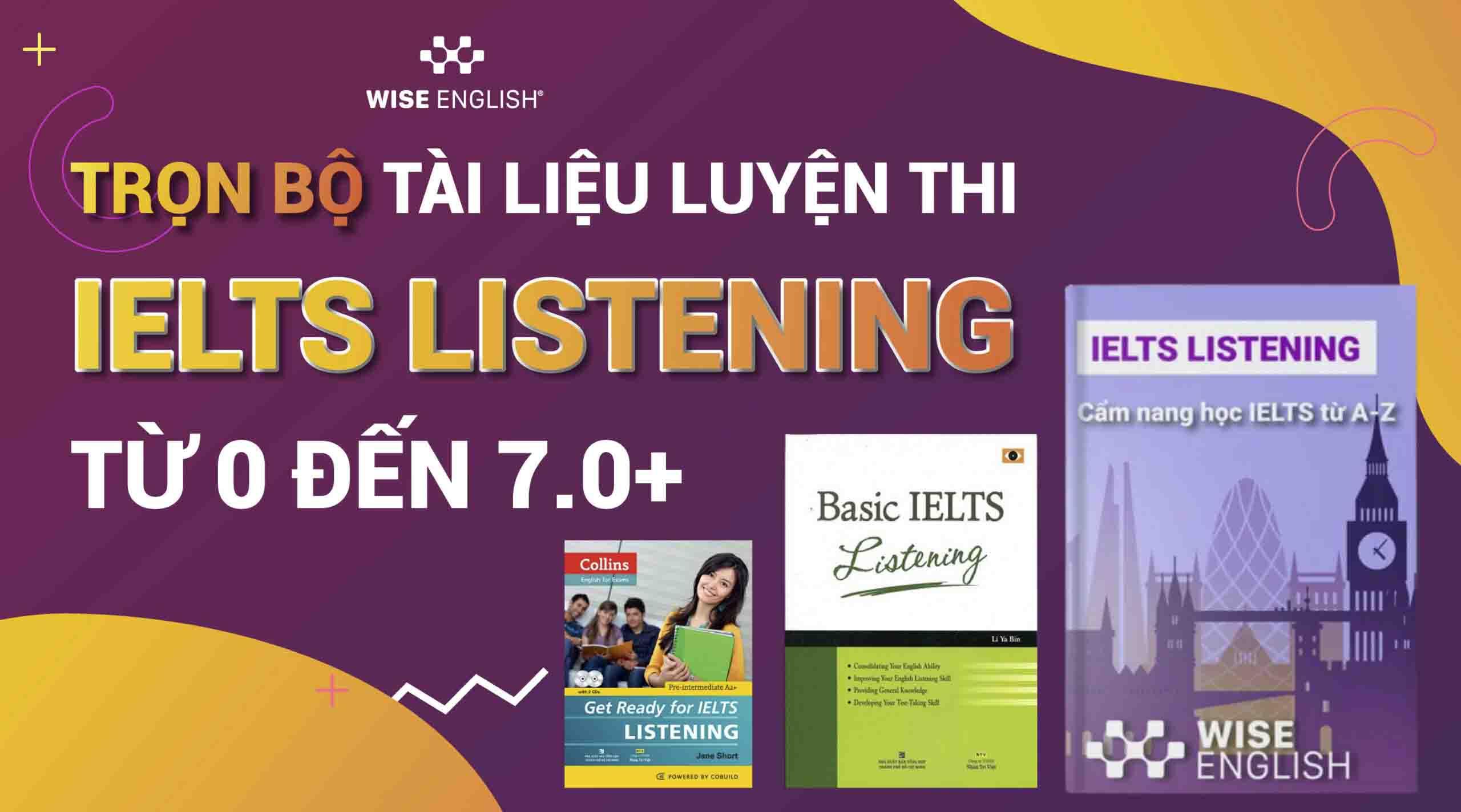 sách học ielts listening