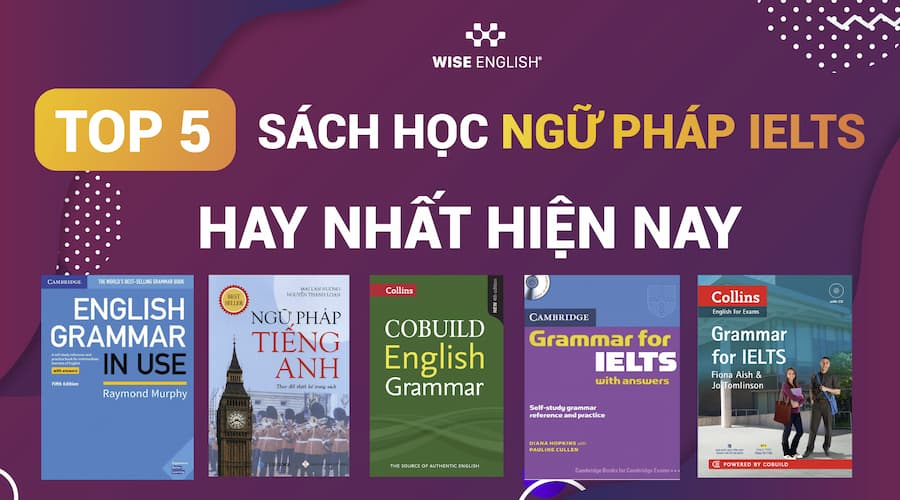 sách học ngữ pháp ielts