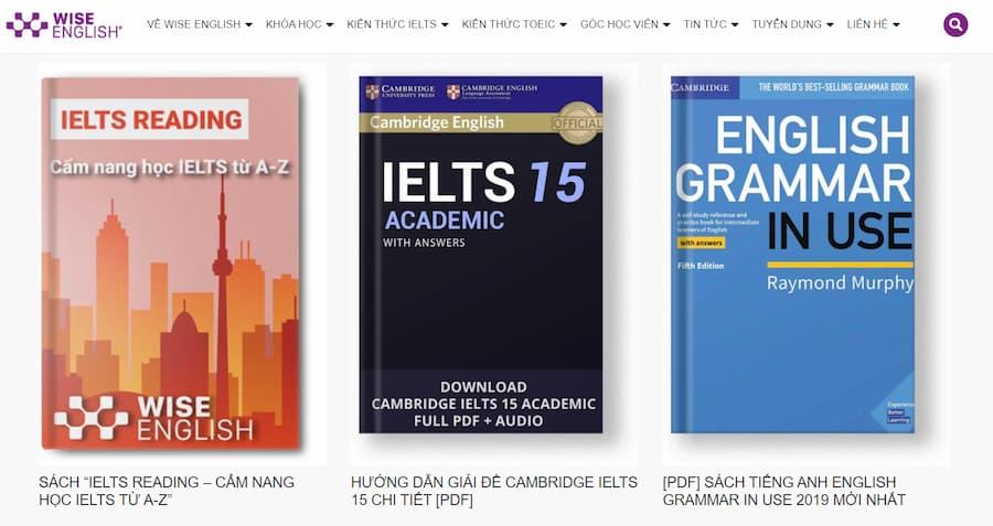 Tài liệu học IELTS Online