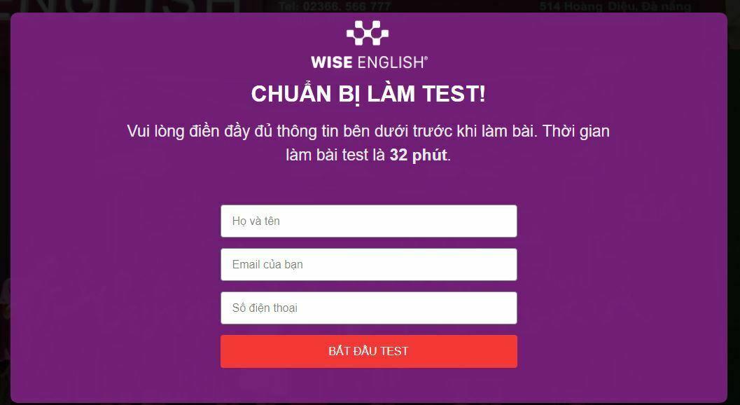 WISE-ENGLISH-TEST