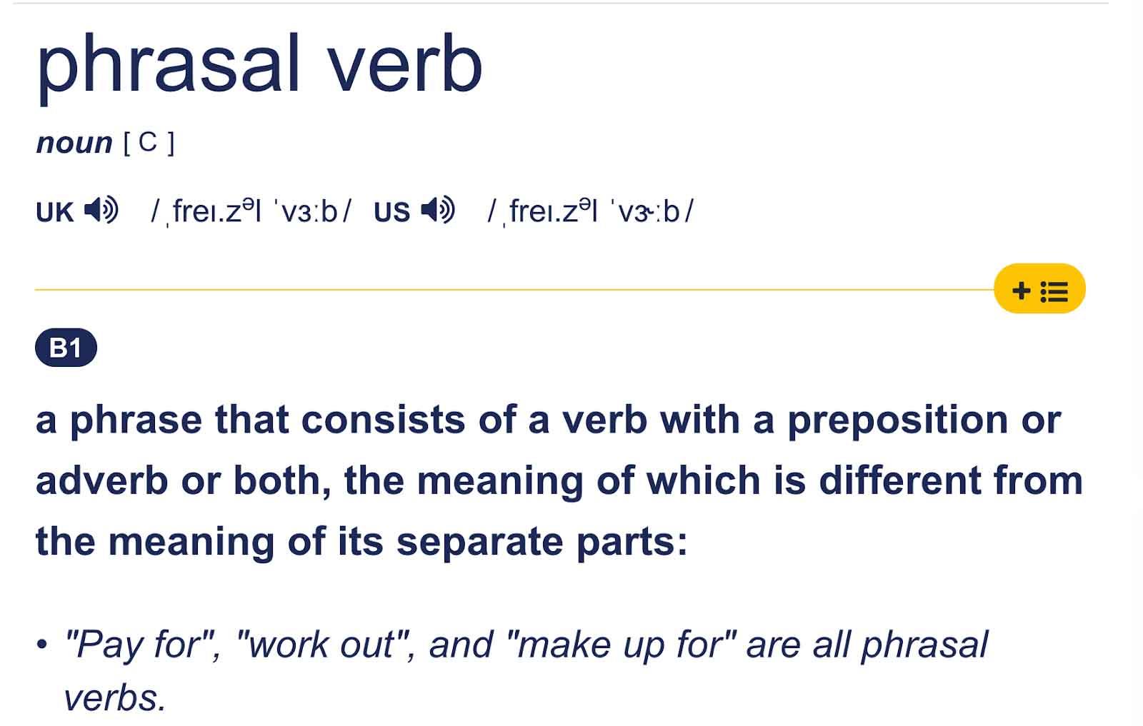 tổng hợp phrasal verb