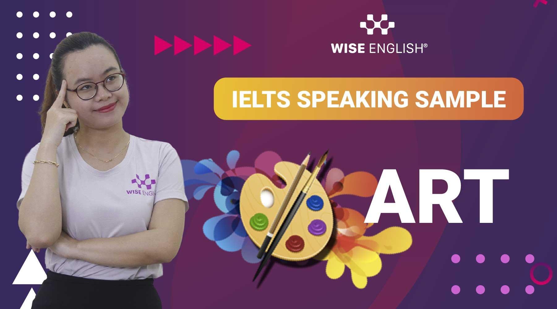 IELTS-Speaking-Sample-ART