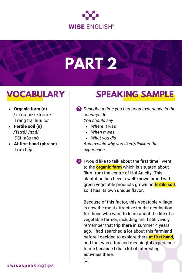 IELTS-Speaking-Sample-Part 2