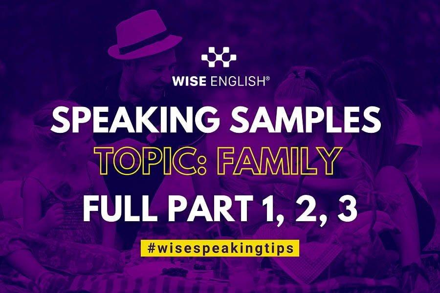 SPEAKING SAMPLES TOPIC  - KIM