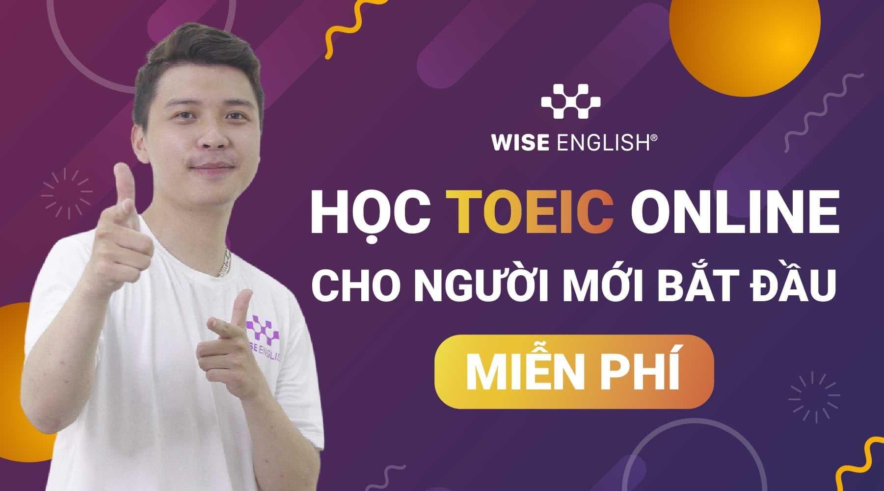 học toeic online