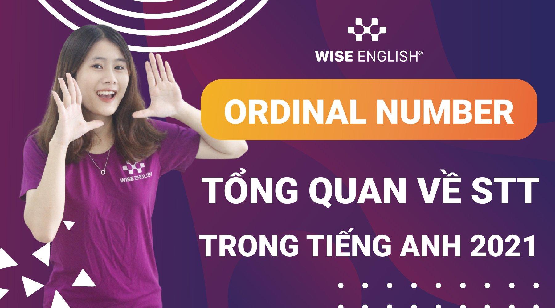 ordinal number